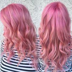 Grown Out Fashion To Soft Dimensional Pink   Modern Salon