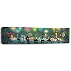 Disney Alice in Wonderland ''A Mad Tea Party'' Giclée by Rob Kaz | going in the hallway