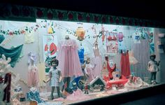 Holiday shopping displays Deck the halls with deals and savings. Christmas Past, Christmas Shopping, Vintage Christmas, Xmas, Christmas Windows, Deck The Halls, 1960s, Christmas Decorations, Display
