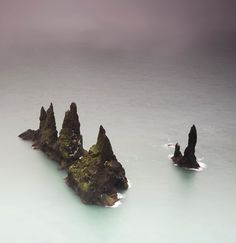 Whisper in the water / Reynisdrangar, Iceland
