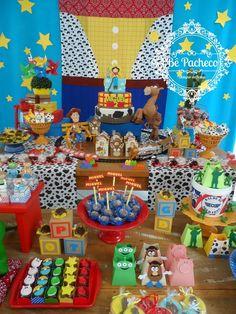 Jessie Toy Story, Toy Story Baby, Toy Story Theme, Toy Story Birthday, First Birthday Photos, Third Birthday, 4th Birthday Parties, Baby Birthday, Birthday Ideas