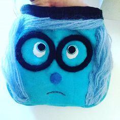 Tristezza chalkbag Sadness chalkbag by LaSte handmade