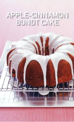 Apple-Cinnamon Bundt Cake | Martha Stewart Living - This classic, moist Bundt cake will fill your home with the scent of comfort food.