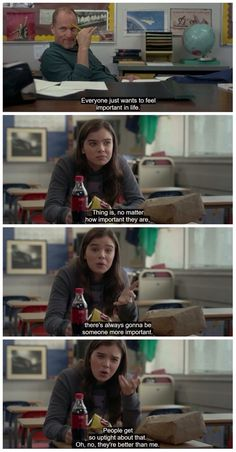 The Edge of Seventeen Tv Show Quotes, Film Quotes, Movies Showing, Movies And Tv Shows, Frases Bad, Movie Shots, Movie Lines, Different Quotes, Film Stills