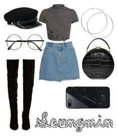 Casual Outfits For Teens, Cute Teen Outfits, Teenage Girl Outfits, Edgy Outfits, Korean Fashion Kpop Inspired Outfits, Kpop Fashion Outfits, Korean Outfits, Mode Kpop, Mini Dress With Sleeves