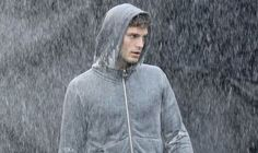Jamie Dornan Fifty Shades | ... Jamie Dornan gets caught in the rain as he films Fifty Shades of Grey