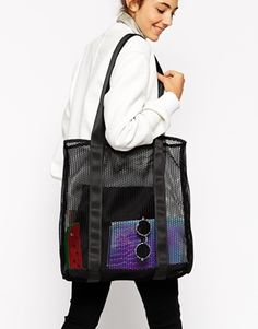 ASOS | Chunky Mesh Shopper Bag