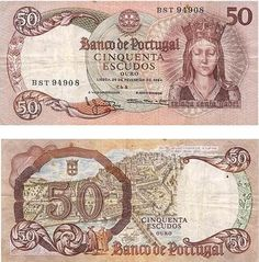 Roberts World Money. Sellers of Quality World Banknotes. Money Template, Money Notes, Portuguese Culture, Valuable Coins, Coin Worth, Old Money, World Coins, Rare Coins, Childhood Memories