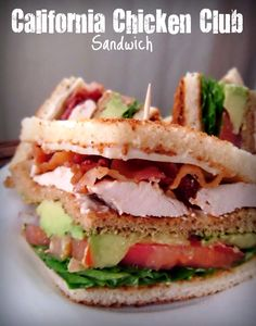 To improve upon the classic club sandwich recipe, we spiced up the grilled chicken with a Cajun-style rub. Description from pinterest.com. I searched for this on bing.com/images