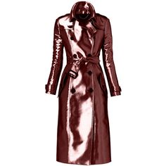 Burberry Bright Metallic Trench Coat ($3,195) ❤ liked on Polyvore featuring outerwear, coats, jackets, burberry, coats & jackets, trench coats, trench, jassen, jackets and outerwear and jacket trench