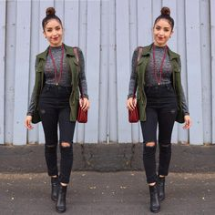 Today's #ootd Details on my blog tomorrow!   Love this outfit by Dulce Candy ❤️❤️