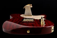 Music Maker  Guitars: - LTD Special TLs Mahogany Trans Red