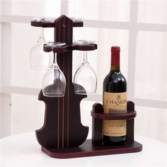 1 estante para troncos de vino tinto, estante para vino rojo sólido, juego creativo de vino tinto (sin botellas y tazas) LU718950| | - AliExpress Wine Rack Bar, Rustic Wine Racks, Wine Glass Rack, Wood Wine Bottle Holder, Wine Bottle Glasses, Wood Tea Light Holder, Wine Rack Design, Wood Carving For Beginners, Alcohol Dispenser