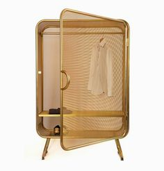The Harold closet by Jesse Visser in gold
