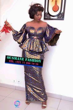 Bazin riche - #Bazin #riche African Print Dresses, African Fashion Dresses, African Print Fashion, African Attire, Africa Fashion, African Wear, African Women, African Dress, African Lace