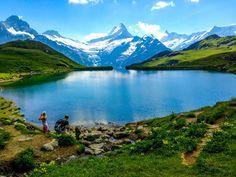 Lake Bachalpsee, Wengen, Switzerland