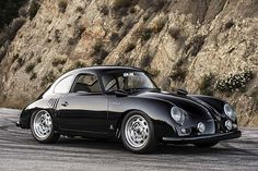 Emory Motorsports is the Californian company responsible for the Outlaw style of old Porsche 356 coupes. The Emory family has been in the Porsche business Carros Porsche, Porsche Sportwagen, Porsche Autos, Porsche 356a, Porsche Sports Car, Porsche Cars, Custom Porsche, Porsche Carrera, Porsche Build