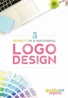 Graphic Designer and Blogger, Melissa from Design Eat Repeat, shares 5 Secrets To A Successful Logo Design - as well as a peek into her process for latest branding client Sweets and Treats! Great article for business owners and bloggers interested in branding!