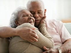 I love to see older couples in love. It reminds me that love doesn't have to be short lived buy it can mature and grow. So beautiful.