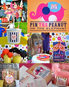Circus Party by Abbey Malcolm Letterpress + Design www.abbeymalcolmpress.com #circus party #circuspartyinvites #circuspartyideas