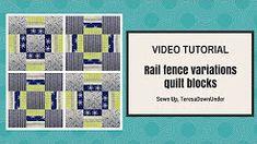 FATTO A MANO: Particolare blocco in patchwork
