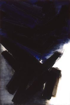 """Composition (1956)"" by Pierre Soulages"