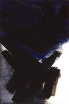 Composition -- 1956 -- Musée Soulages -- Pierre Soulages -- http://www.pierre-soulages.com/