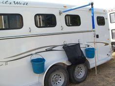 Trot on Hank: More horse trailer prep, exterior horse trailer organization