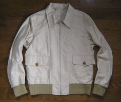 HAVERSACK Japan Made The Real Men Army A1 A2 Cotton Mccoys Field Zip Jacket S #HAVERSACK #Jacket