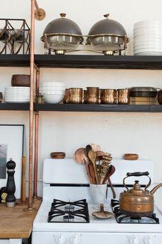 The Collectors - Kristan Cunningham and Scott Jarrell's LA Loft - Lonny