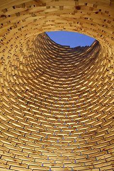 Fireplace Dome by Haugen/Zohar Arkitekter