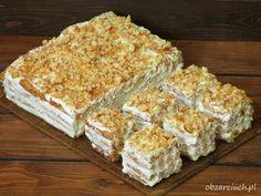 Ciasto Napoleon z 3 składników Good Food, Yummy Food, Sweet Bakery, I Want To Eat, Carrot Cake, Food Inspiration, Carrots, Tasty, Bread