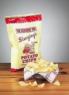 Sterzings. The best damn potato chips in all the land. Made in Burlington, IA. Go ahead...Tri-Some.