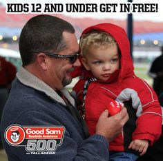 51 days until the Good Sam Roadside Assistance 500! Don't forget that kids 12 and under can get in FREE!    THIS IS MORE THAN A RACE...    Call --> 877.Go2.DEGA