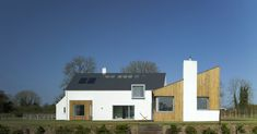 Woodfield House — PG Architects House Designs Ireland, Barn Renovation, House Front, Cladding, Building A House, House Plans, New Homes, Architects, House Styles