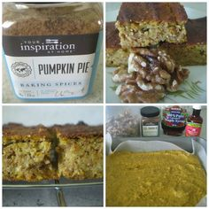 Your Inspiration At Home Pumpkin and Walnut Slice. #YIAH #Glutenfree #Sugarfree #Paleo   Don't forget to check out our website www.sharonking.yourinspirationathome.com.au