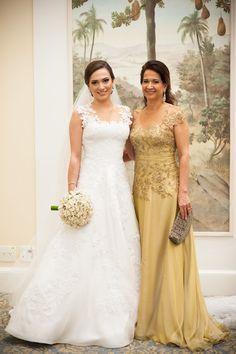 Vestido da mãe da noiva por Heloísa Albuquerque - Dress code mães dos noivos - Foto Aline Machado