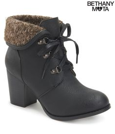 Fold-Over Bootie from Bethany Mota Collection at Aeropostale