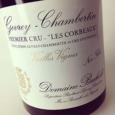 2012 Bachelet Gevrey-Chambertin 1er Cru Les Corbeaux #burgundy #denisbachelet
