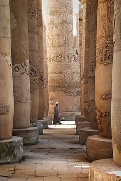 The Karnak Temple in Egypt comprises a vast mix of decayed temples, chapels, pylons, and other buildings. Building at the complex began in the reign of Sesostris I in the Middle Kingdom and continued into the Ptolemaic period. #JetsetterCurator