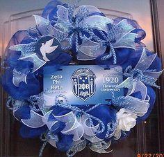 Zeta Phi Beta Wreath