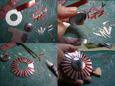 Pequeñeces: DIY Miniature mirrors