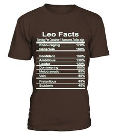 # Leo Fact Tshirt .    COUPON CODE    Click here ( image ) to get COUPON CODE  for all products :      HOW TO ORDER:  1. Select the style and color you want:  2. Click Reserve it now  3. Select size and quantity  4. Enter shipping and billing information  5. Done! Simple as that!    TIPS: Buy 2 or more to save shipping cost!    This is printable if you purchase only one piece. so dont worry, you will get yours.                       *** You can pay the purchase with :