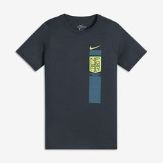 Nike (Neymar) Big Kids  T-Shirt Size Small (Blue) - Clearance Sale e00837605