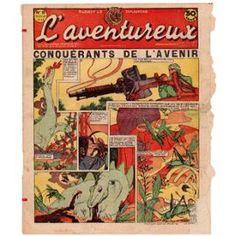 L'aventureux 1ère Année 1936 N° 18 : Conquérants De L'avenir
