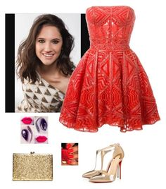 """""""Sem título #1549"""" by leonettalover07 ❤ liked on Polyvore featuring Zuhair Murad, Christian Louboutin, OPI, women's clothing, women, female, woman, misses and juniors"""