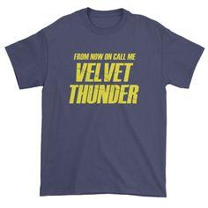 Velvet Thunder Brooklyn 99 Mens T-Shirt - Thunder - Ideas of Thunder gift #Thundergift Piece Of Clothing, Clothing Apparel, Thunder And Lightning, Crew Neck Sweatshirt, T Shirt, State Art, Brooklyn, Velvet, Trending Outfits