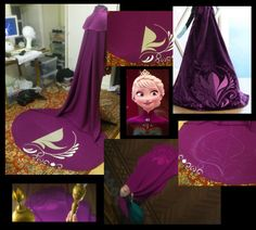 Elsa - Cape pattern by Stridoor