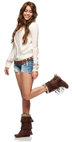 love the boots especially with the shorts