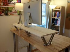 DIY standing desks are effective, but if you wanted one that you can carry around and that's lightweight and durable, the ZestDesk is the perfect fit. GET A 20% OFF LAUNCH SALE WHEN YOU ORDER HERE! >>unbouncepages.com/ZestDesk